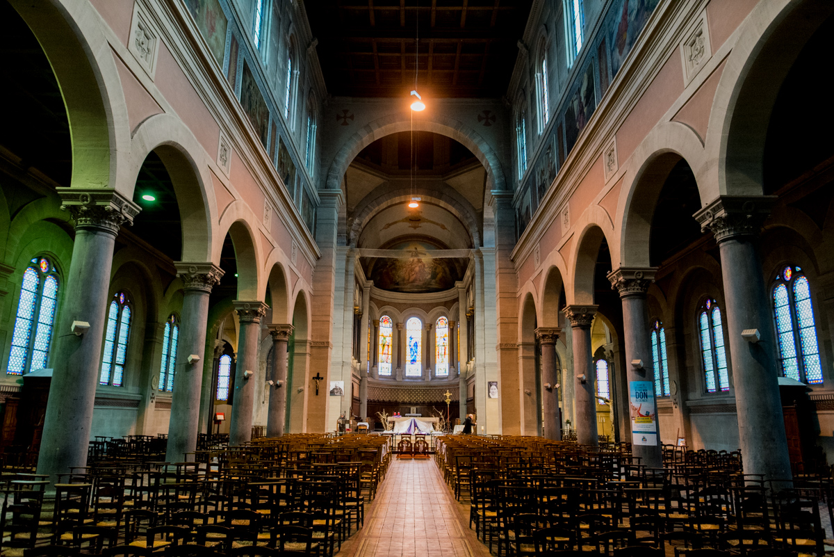 Photographe mariage eglise Lille