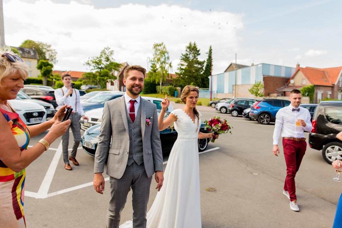 arrivé mariage arras