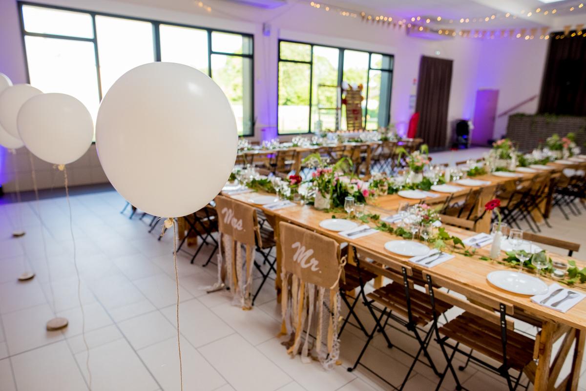 décoration salle mariage champêtre arras