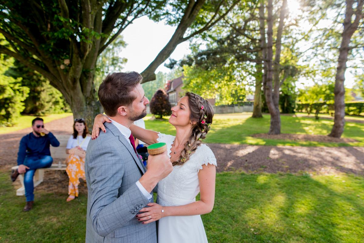 les mariée mariage champetre