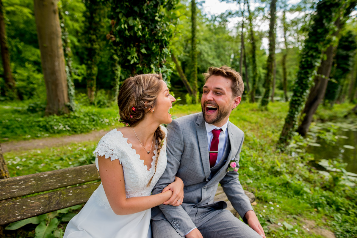 photos de jeunes mariés heureux Arras
