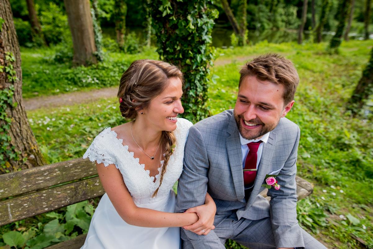 jeunes mariés champêtre Arras